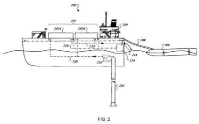Google'ın yüzen sunucular projesi